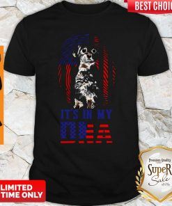 Official American Flag Maltese It's In My DNA Shirt