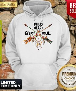 Official Wild Heart Gypsy Soul Hoodie