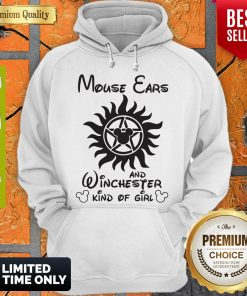 Disney Mouse Ears And Winchester Kind Of Girl Hoodie