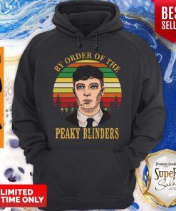 Cillian Murphy By Order Of The Peaky Blinders Vintage Womens Hoodie