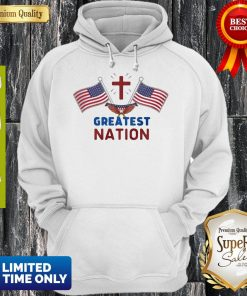 Independence Day Eagle Greatest Nation Flag America Hoodie