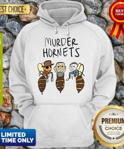 Official Murder Hornets Bees Freddy Jason Myers Hoodie