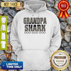 Official Grandpa Shark Doo Doo Doo Hoodie