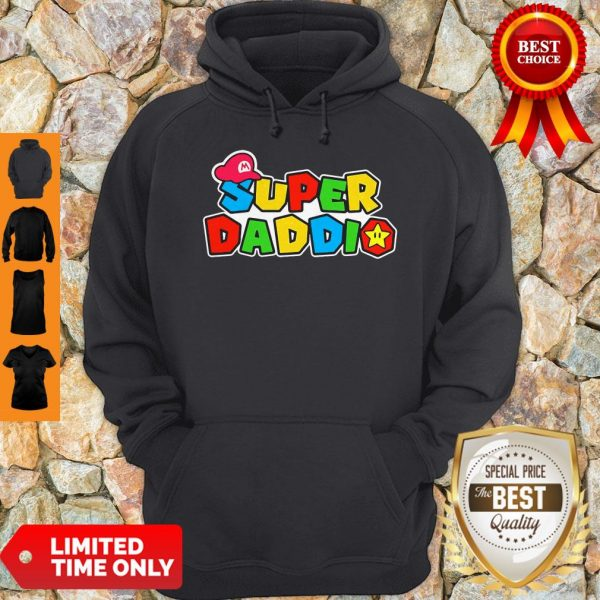 Official Super Daddio Father's Day Hoodie