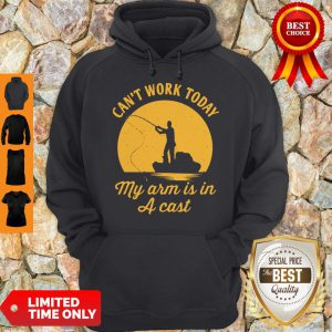 Can't Work Today My Arm Is In A Cast Men's Hoodie
