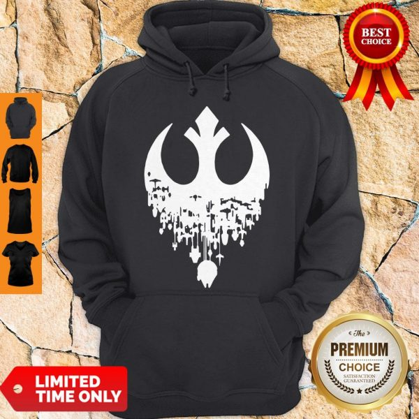Star Wars Hombres Fractured Rebellion Hoodie