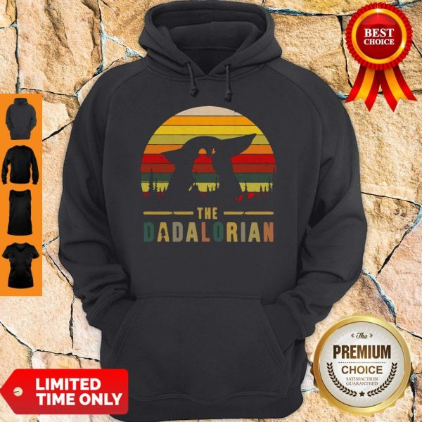 The Mandalorian and Baby Yoda The Dadalorion Vintage Hoodie