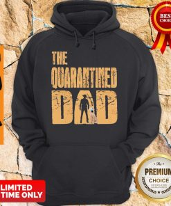 Official The Quarantined Dad Dog Mask Hoodie