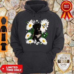 Official Tibetan Terrier Dog Daisy Flower Classic Hoodie