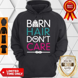 Official Horse Girls Barn Hair Don't Care Women Riding Gifts Classic Hoodie