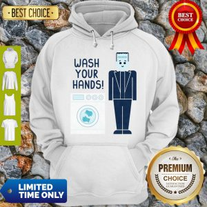 Official Wash Your Hands Classic Hoodie