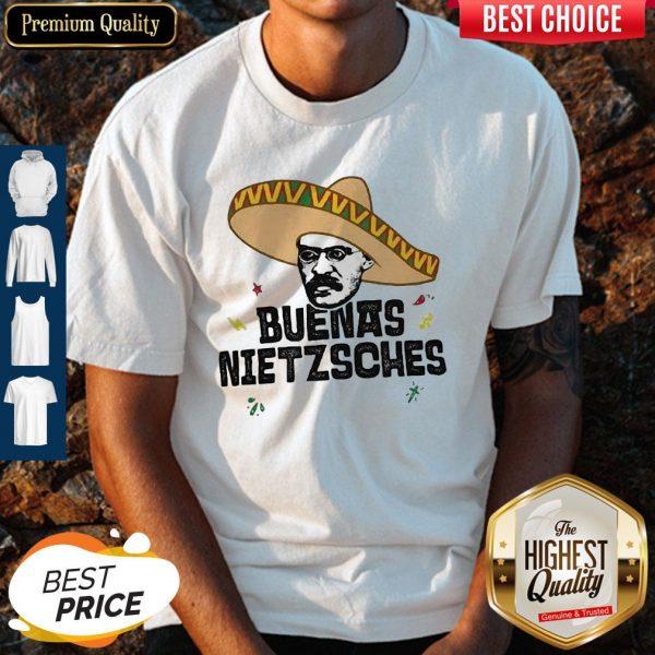 Mexican Friedrich Buenas Nietzsche Shirt