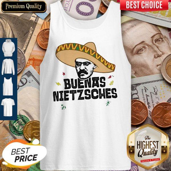 Mexican Friedrich Buenas Nietzsche Tank Top
