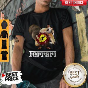 Official Brown Chipmunk Scuderia Ferrari Shirt