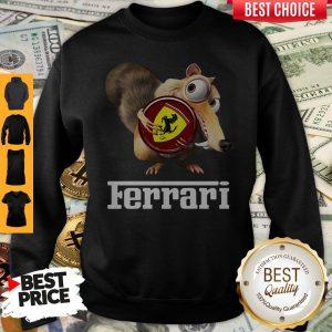 Official Brown Chipmunk Scuderia Ferrari Sweatshirt