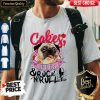 Official Cake Pugs And Rock And Roll Shirt