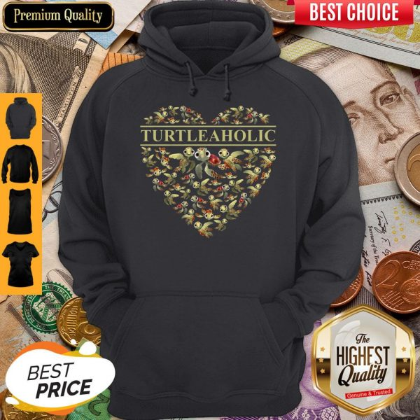 Official Crazy Turtle Aholic Hoodie