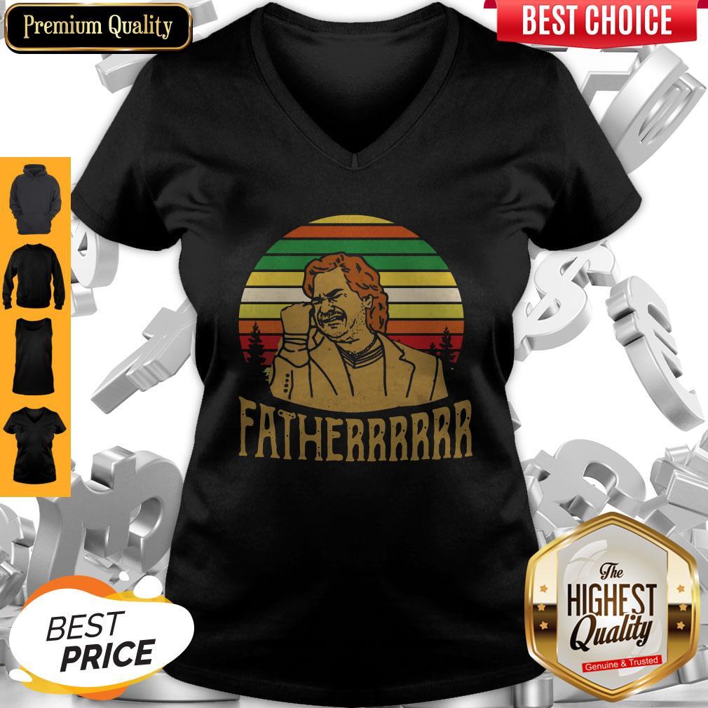 Official Douglas Reynholm Fatherrrrrr Vintage V-neck