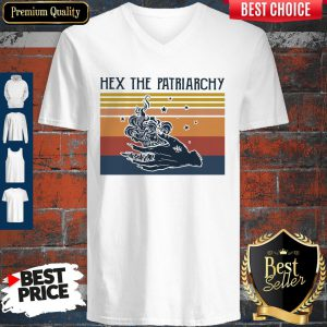 Official Hex The Patriarchy Vintage V-neck