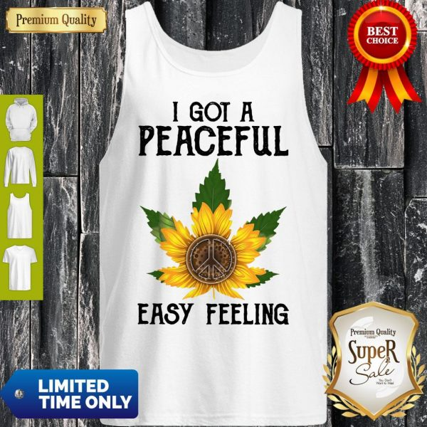 Official I Got A Peaceful Easy Feeling Tank Top