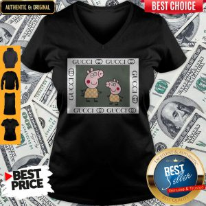 Official Peppa Pig Gucci V-neck