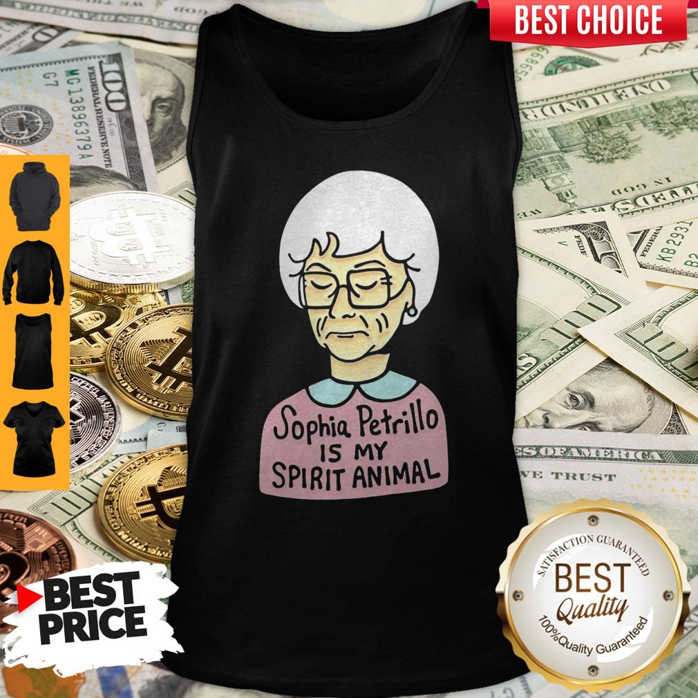 Official Sophia Petrillo Is My Spirit Animal Tank Top