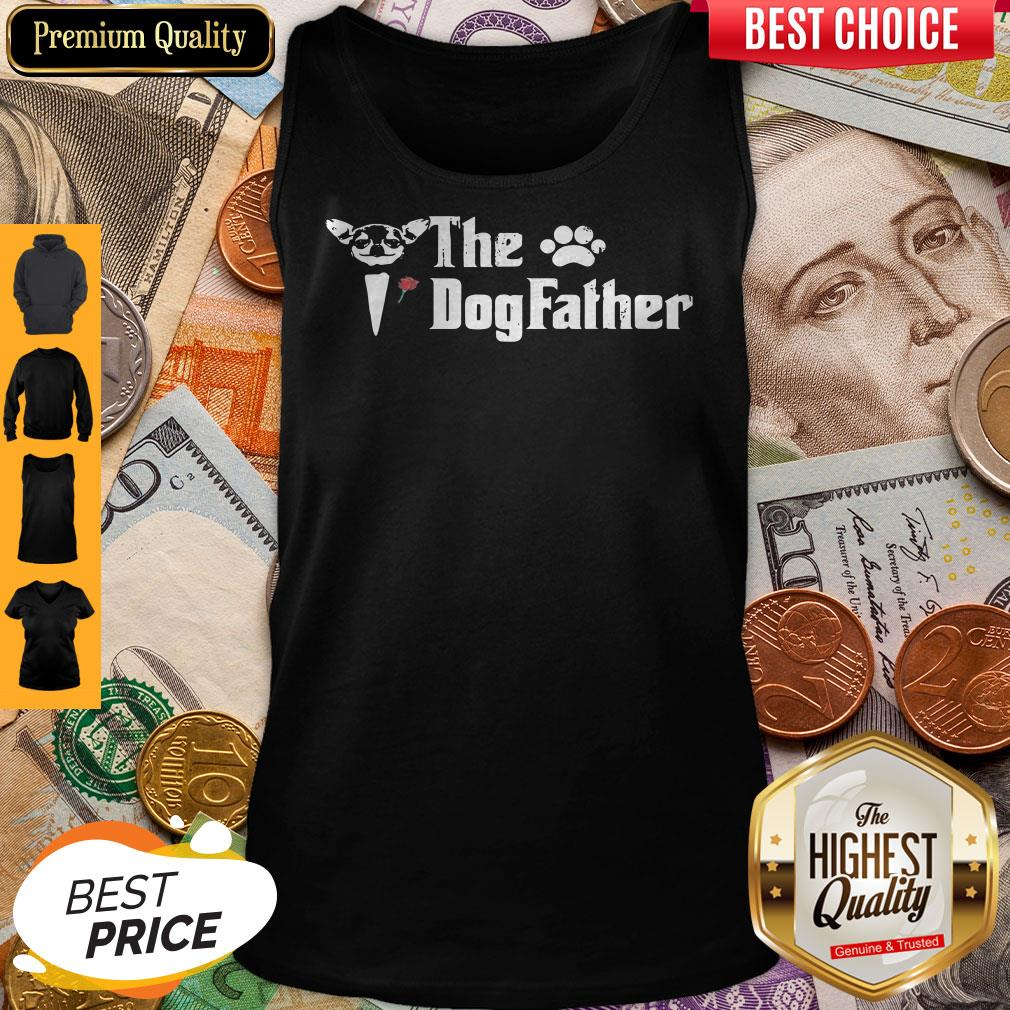 Official The DogFather Paw Tank Top