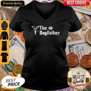 Official The DogFather Paw V-neck