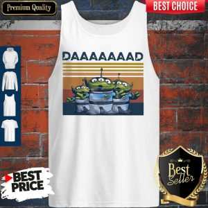 Official The Squeeze Toy Aliens Daaaaad Vintage Tank Top