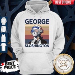 Official US Drink George Sloshington Hoodie