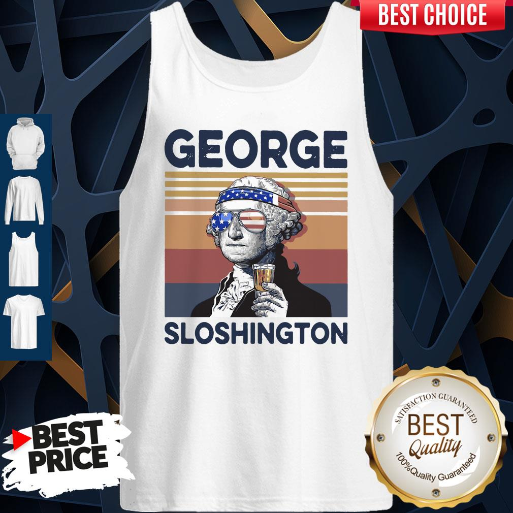 Official US Drink George Sloshington Tank Top