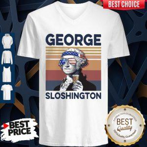 Official US Drink George Sloshington V-neck
