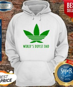 Official Weed Worlds Dopest Dad Hoodie