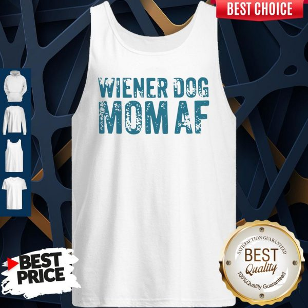 Official Wiener Dog Mom AF Tank Top