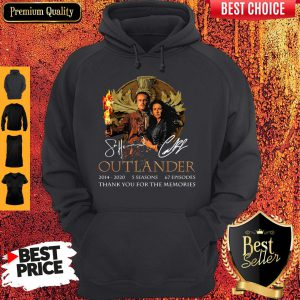 Outlander 2014-2020 5 Seasons 67 Episodes Thank You For The Memories Hoodie