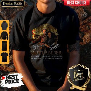 Outlander 2014-2020 5 Seasons 67 Episodes Thank You For The Memories Shirt