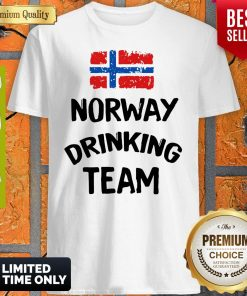 Official Norway Drinking Team Shirt