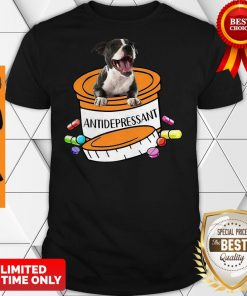 Official Staffordshire Bull Terrier Antidepressant Shirt