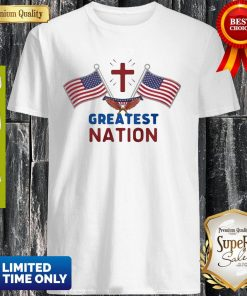 Independence Day Eagle Greatest Nation Flag America Shirt