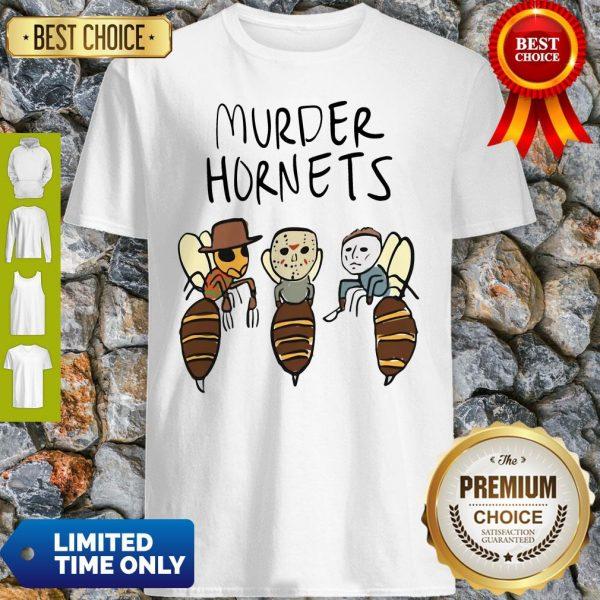 Official Murder Hornets Bees Freddy Jason Myers Shirt