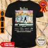 The Beatles 60th Anniversary 1960 2020 Thank You For The Memories Signatures Shirt