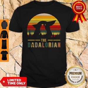 The Mandalorian and Baby Yoda The Dadalorion Vintage Shirt