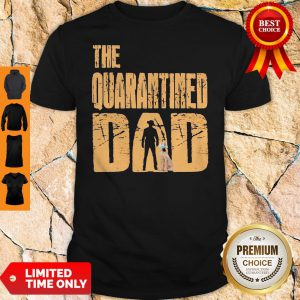 Official The Quarantined Dad Dog Mask Shirt