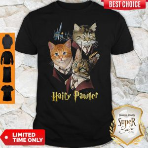 Official Cats Hairy Pawter Shirt