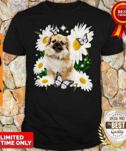 Official Tibetan Spaniel Daisy Flower Classic Shirt