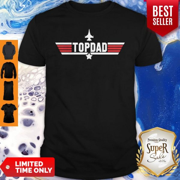 Top Dad Personalized Father's Day Shirt