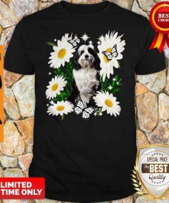 Official Tibetan Terrier Daisy Flower Classic Shirt