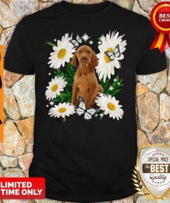 Official Vizsla Daisy Flower Classic Shirt