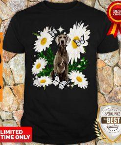 Official Weimaraner Daisy Flower Classic Shirt