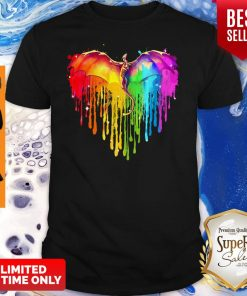 Official Rainbow Dragon Heart Shirt
